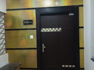 Elevation:  Doors by Rohit Interiors