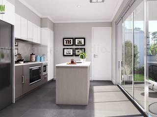 Interior & Exterior Designer Ideas by Yantram 3d exterior rendering, Amsterdam - Netherlands Yantram Architectural Design Studio Modern
