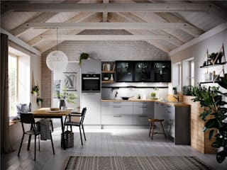 New range of doors coming soon! #2019: modern Kitchen by PTC Kitchens