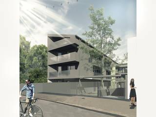 Apartamentos Oseraies por OGGOstudioarchitects, unipessoal lda Moderno