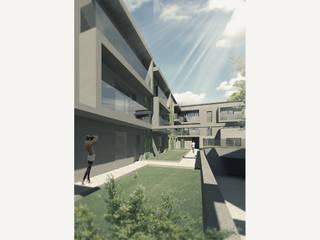 Apartamentos Oseraies Casas modernas por OGGOstudioarchitects, unipessoal lda Moderno