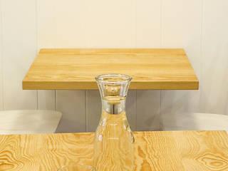 Amodo Restaurante Organico ADC Espacios Gastronomía de estilo escandinavo Acabado en madera