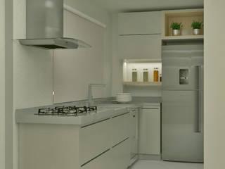 Projeto de Reforma Residencial Cozinhas modernas por Regiane Almeida Arquitetura e Interiores Moderno