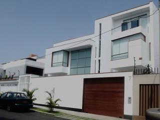 Construcción de casa en Ciudad de México - Casa Coz: Casas unifamiliares de estilo  por GA Experimental