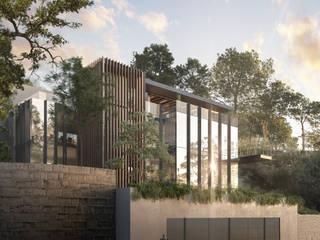 Cumbres de Acultzingo: Casas unifamiliares de estilo  por DOS Jaime Guzman Arquitectos