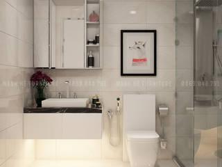 Modern bathroom by Công ty TNHH Nội Thất Mạnh Hệ Modern