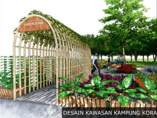 Desain Kawasan Kampung Koran:   by Bengkel Tanaman