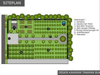 DESAIN KAWASAN TANAMAN BUAH:   by Bengkel Tanaman