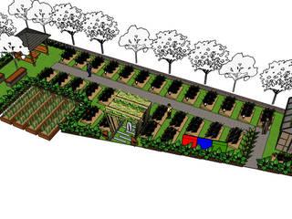 Desain kebun sayur Superindo:   by Bengkel Tanaman
