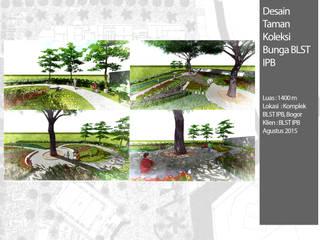 Taman Koleksi BLST IPB:  Kantor & toko by Bengkel Tanaman