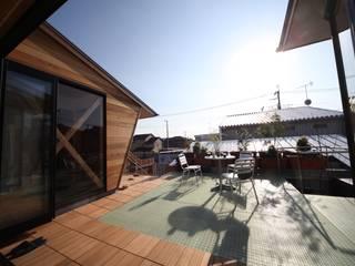 Terrace by 株式会社高野設計工房,