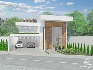 Casas modernas de LARISSA REIS ARQUITETURA Moderno