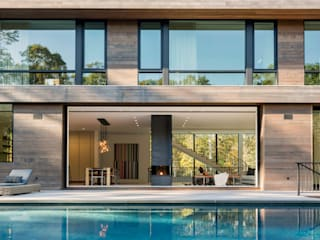 modern Pool by Paul Marie Creation