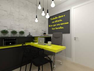 Escritório Espaços comerciais modernos por Juliana Lobo Arquitetura & Interiores Moderno