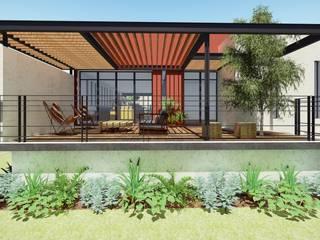 Terraza : Terrazas de estilo  por Taller de Materia Arquitectónica