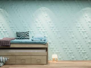 Dunes Panneaux 3D en Gypse par Naturamat Moderne