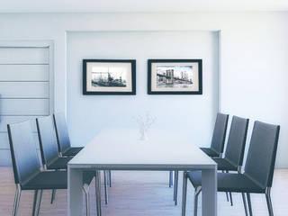 Fotografías en Comedor en Ambiente Moderno:  de estilo  por FotoShop.Mx