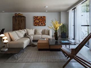 Modern living room by Erika Winters Design Modern