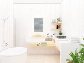 Salle de bains de style  par Kolletra Visual Studio,