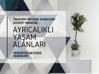 Paredes de estilo  por NOUVELLE. | Proje Danışmanlık, Moderno