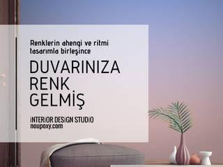 Paredes y pisos de estilo mediterráneo de NOUVELLE. | Proje Danışmanlık Mediterráneo
