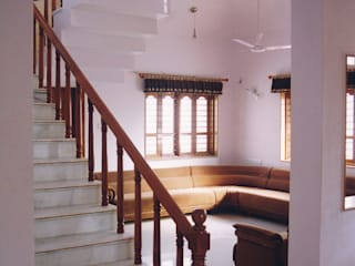 3BHK Bungalow in Ahmedabad Modern living room by Rushabh consultancy Modern