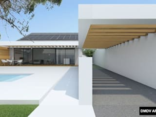Single family home by DMDV Arquitectos
