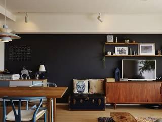 既存空間+ビンテージ家具、うまくとけ合うちょこっとリノベ: 株式会社スタイル工房が手掛けたです。