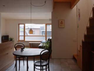 Scandinavian style dining room by 有限会社建築計画 Scandinavian