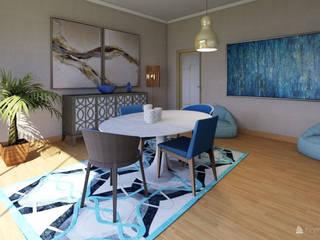 Sala de Jantar Remodelada:   por myHom