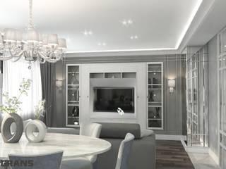 Дизайн проект интерьера 3к. квартиры в ЖК Культура г. Хабаровск: Гостиная в . Автор – Студия дизайна интерьера L'grans,
