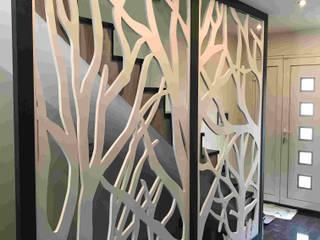 Claustra bi-color Bureau classique par Allure et Bois Classique