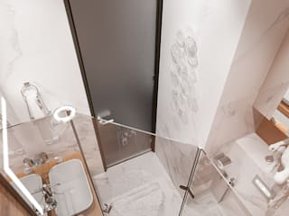 VANDER PARK Ванная комната в стиле минимализм от GRIGOREVDESIGN Минимализм