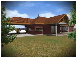 VIVIENDA UNIFAMILIAR RURAL de Vicente Espinoza M. - Arquitecto Rural