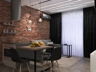 Дизайн интерьера 2к. квартиры в ЖК Культура: Кухни в . Автор – Студия дизайна интерьера L'grans,