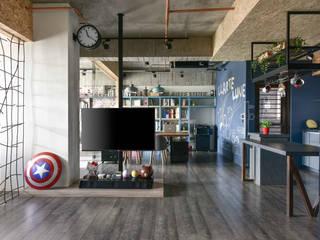 澄月:  書房/辦公室 by 澄月室內設計