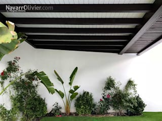 NavarrOlivier Jardin d'hiver minimaliste Bois Noir