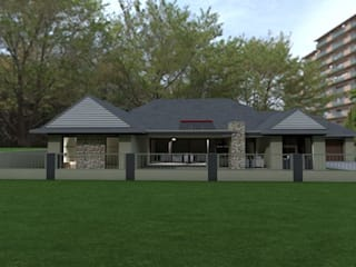 SAVANNAH COUNTRY ESTATE PRETORIA:  Houses by MNM MULTI PROJECTS ,