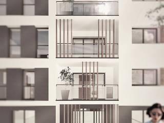 Edifício multifamiliar Cossigny por OGGOstudioarchitects, unipessoal lda Moderno