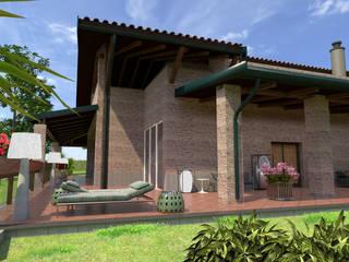 Villa nell'Agro Romano Case classiche di Studio Angelo Luigi Tartaglia Classico