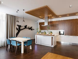 Modern Kitchen by FISHEYE Architecture & Design Modern