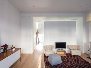 Westbourne Park, London Easton Design Office Ltd Salon moderne