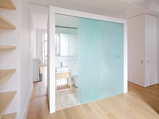 Westbourne Park, London Easton Design Office Ltd Salle de bain moderne