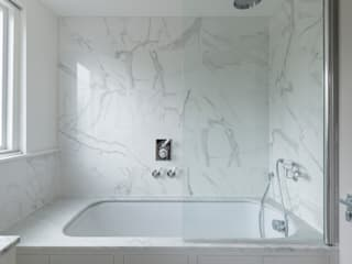 Three Storey Maisonette - Chelsea:  Bathroom by Prestige Architects By Marco Braghiroli