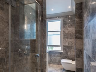 Three Storey Maisonette - Chelsea Classic style bathroom by Prestige Architects By Marco Braghiroli Classic