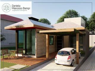 Casa I+H por Daniela Manosso Bampi - Arquitetura Inteligente