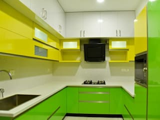 Interior project Asian style kitchen by Royal Designs Architects Asian