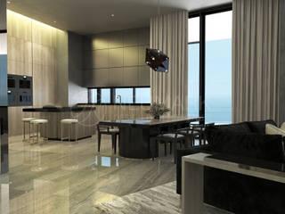 Modern dining room by Марина Анисович, студия NEUMARK Modern