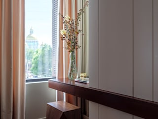 Апартаменты Трибека Спальня в стиле лофт от Porterouge Interiors \ Krasnye Vorota Лофт