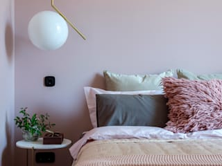 Апартаменты Трибека: Спальни в . Автор – Porterouge Interiors \ Krasnye Vorota